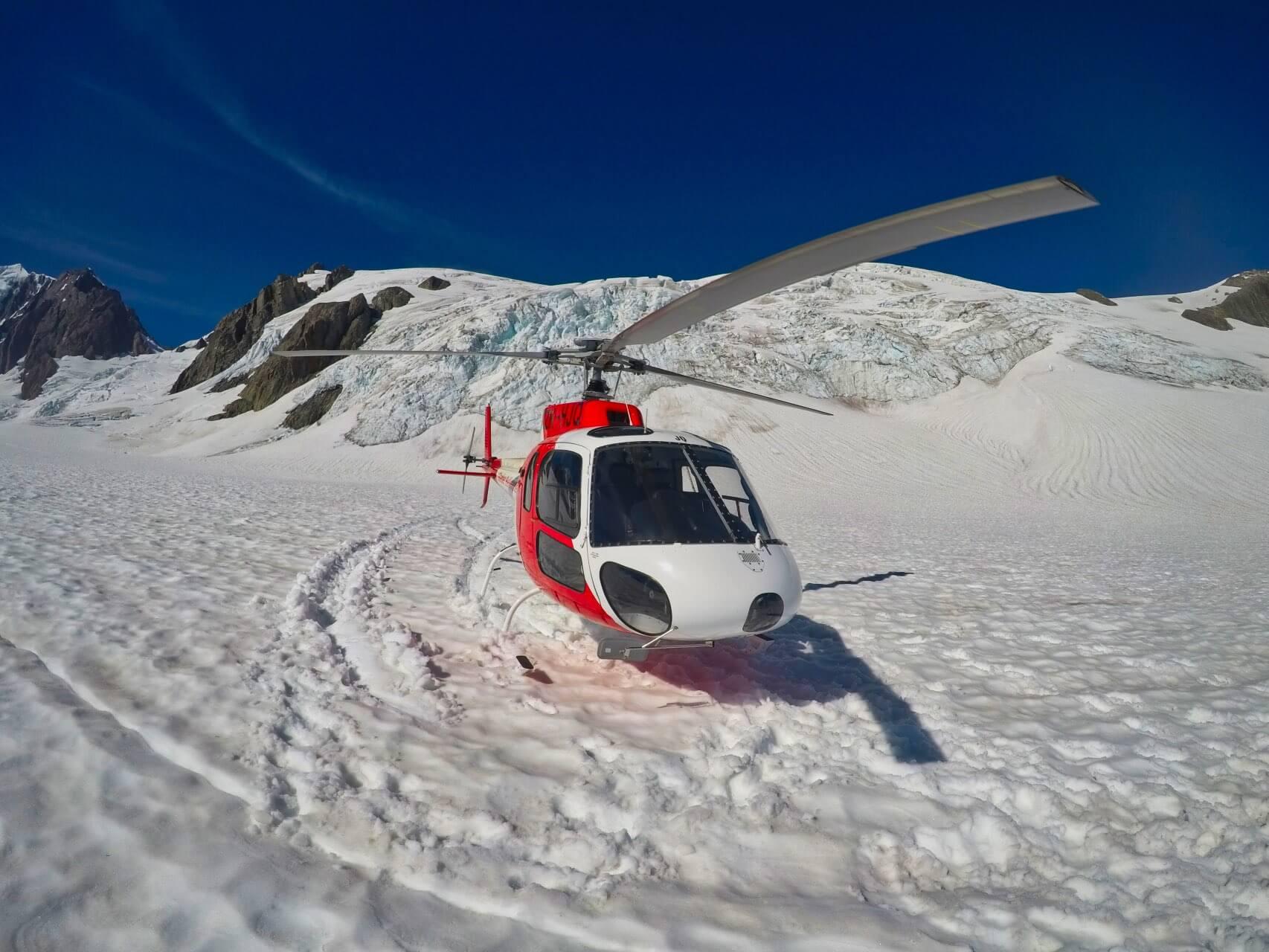 Fox Glacier Helicopters Snowlanding