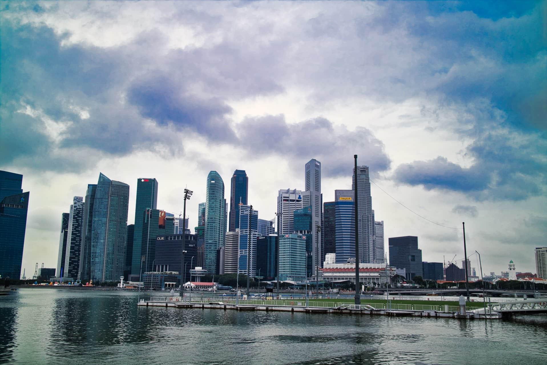 Skyline-Singapur
