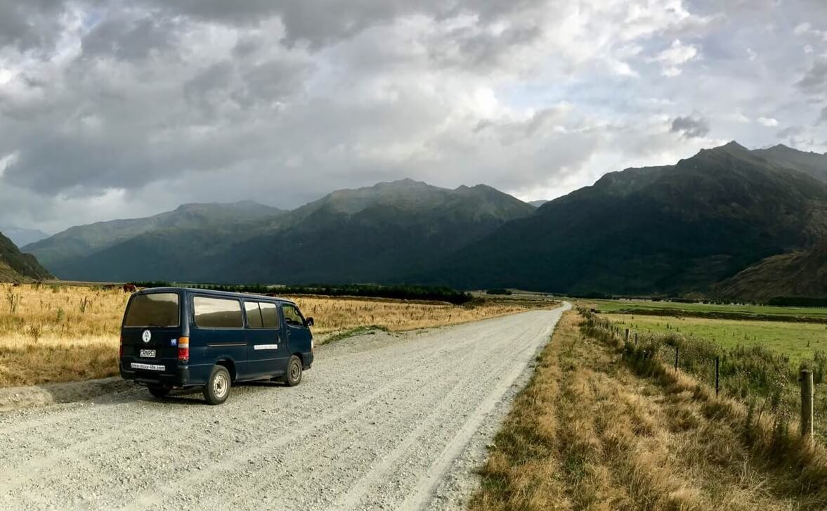 on the way to roy clacier new zealand van