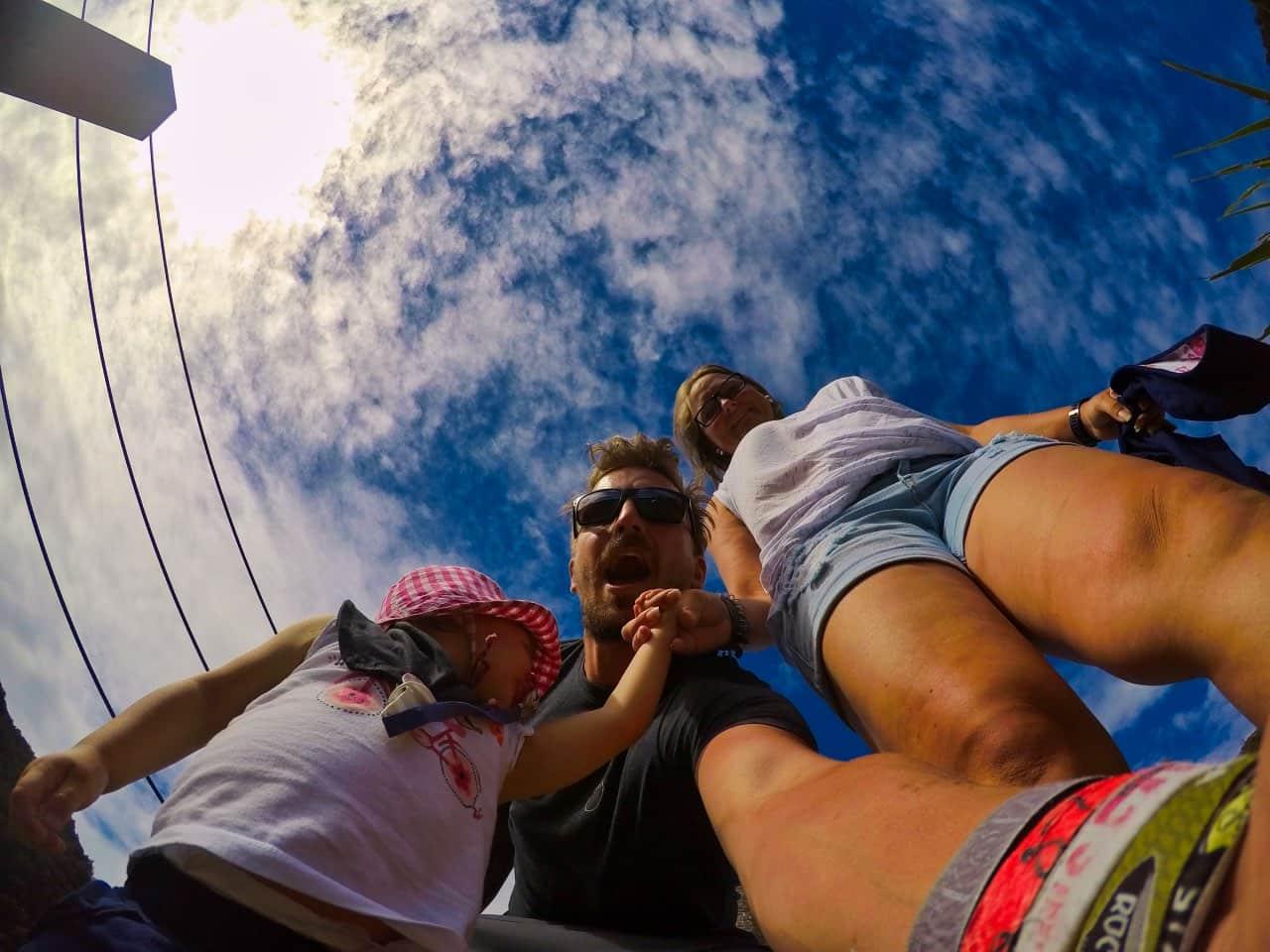 Brunner-Mine-Selfie-Tabea-Sandy-Sebastian