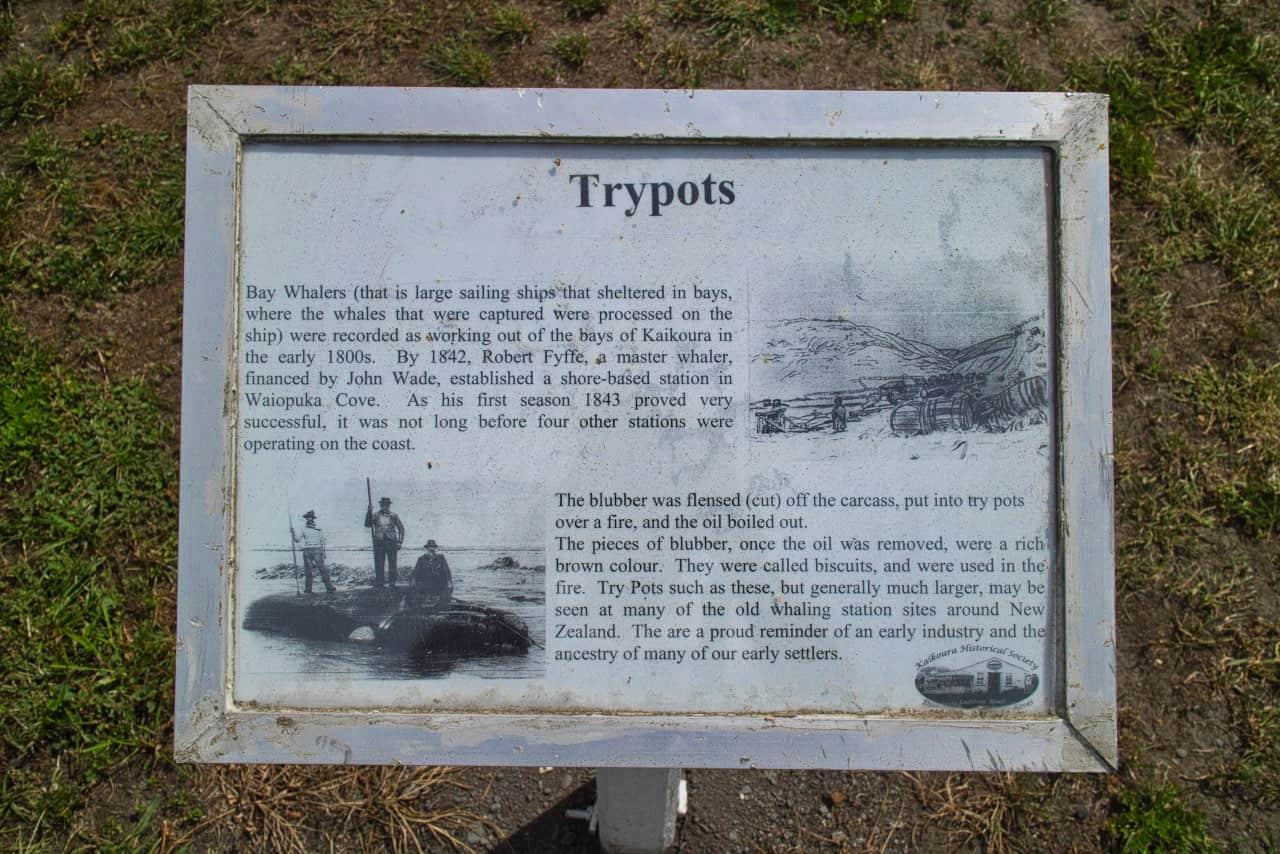 Kaikoura-Trypots-Sign