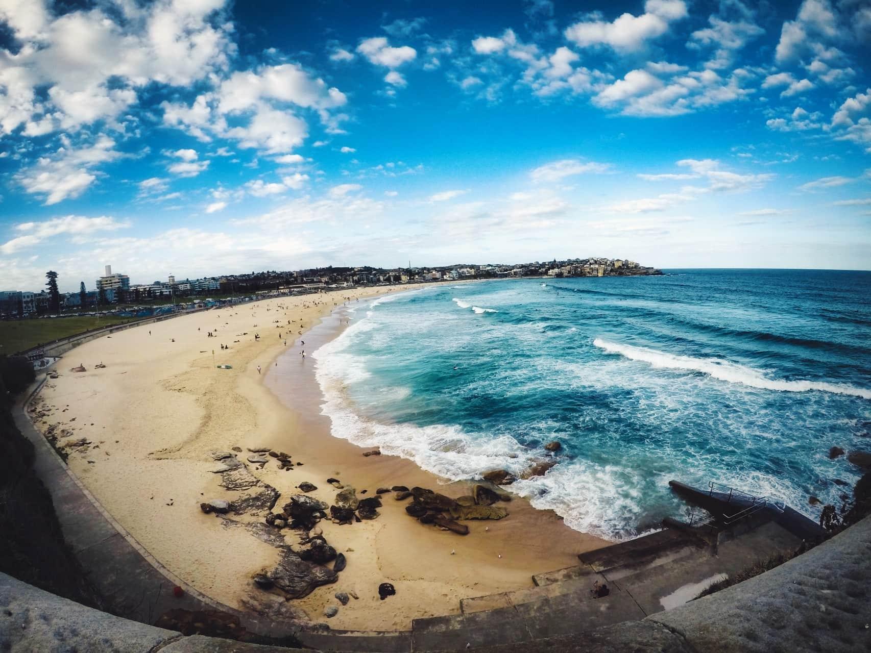 Bondi Beach GoPro Hero5 Beachview australia 2018