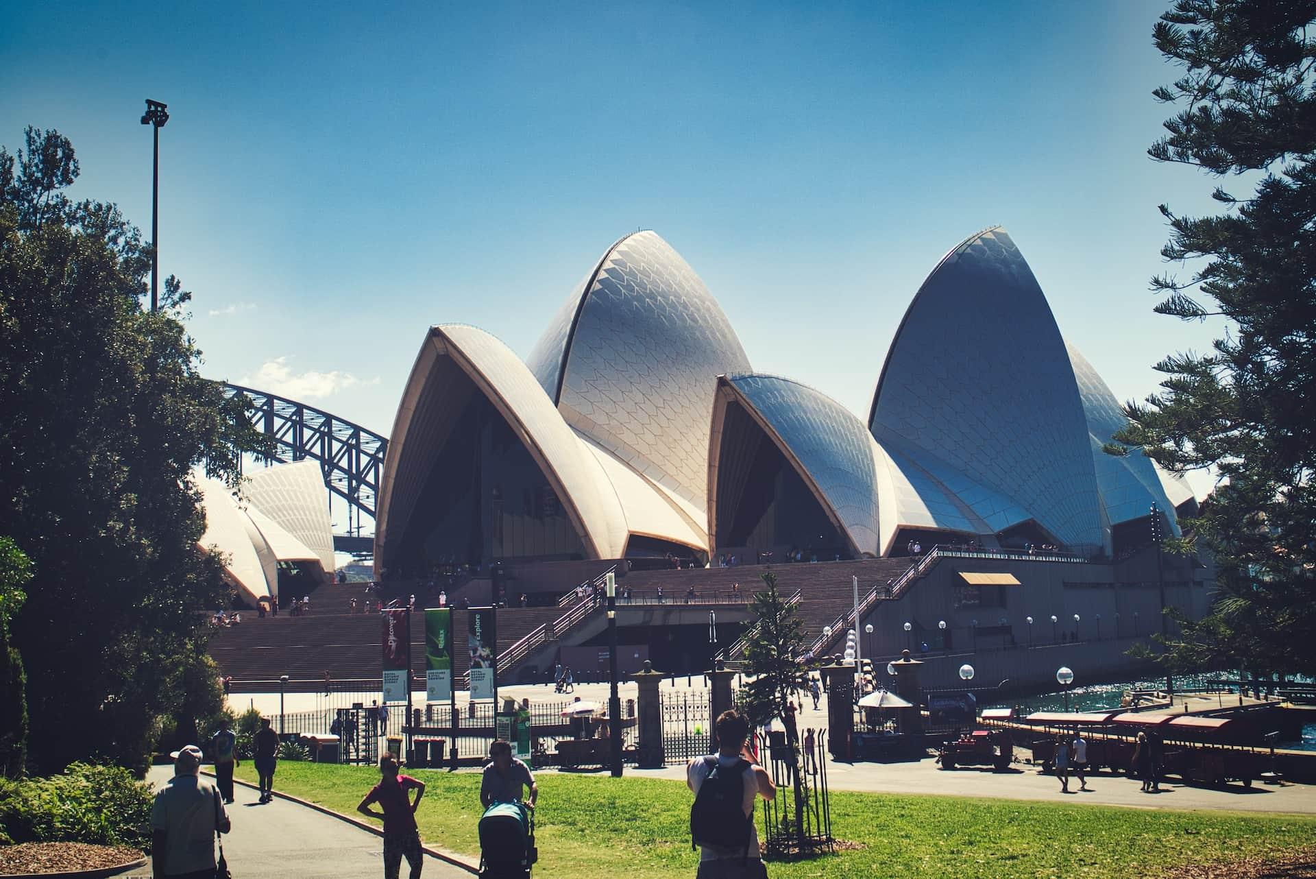 entrance opera house sydney