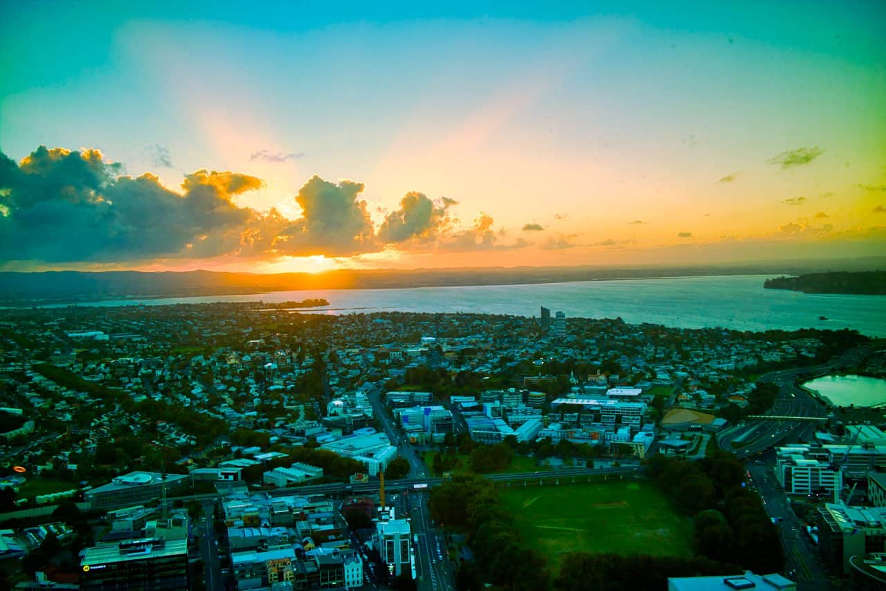 sunset-auckland-sky-tower