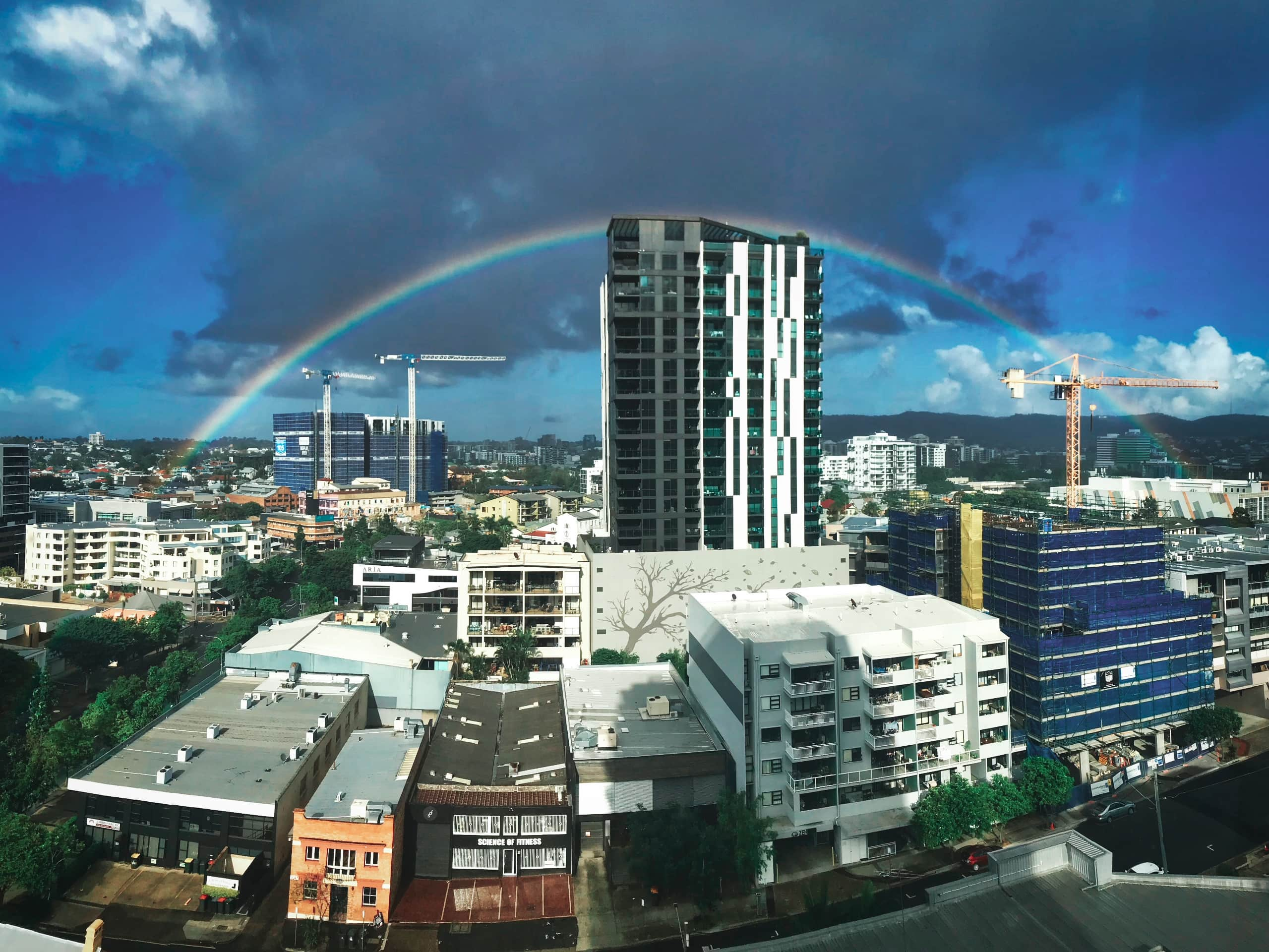 Full rainbow brisbane australia